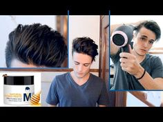 Modern Pompadour - Mens Hair Tutorial & Hairstyle - YouTube