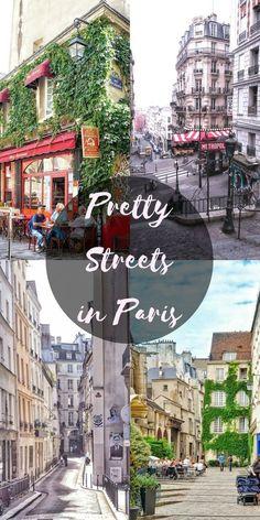 A guide to finding pretty Paris Streets in Paris, France - 파리 프랑스 Париж Франция Restaurants In Paris, Paris France, Places To Travel, Places To Go, Paris Travel Guide, Little Paris, Reisen In Europa, Voyage Europe, Visit France