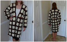 [Video Tutorial] Stunning Granny Square Jacket - http://www.dailycrochet.com/video-tutorial-stunning-granny-square-jacket/