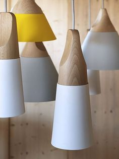 SLOPE | PENDANT LAMP by Skrivo
