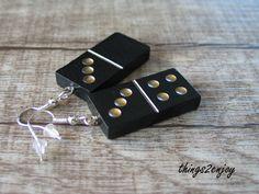 """Ohrhänger - Ohrhänger  """"Domino""""  - ein Designerstück von things2enjoy bei DaWanda"""