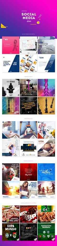 Social Media - Diversos on Behance
