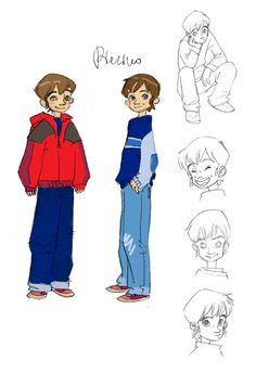 character design-Pierino by Daniela Vetro
