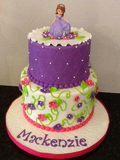 Princess Sophia themed cake
