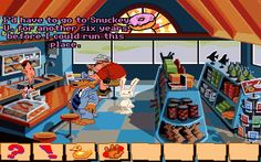 Adventure Games - Sam and Max Hit the Road