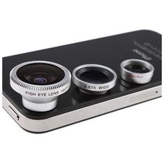 2-in-1 0.67x Wide Angle + Super Macro Lens Special Designed for Apple iPhone 4 Nano 4G iPad iPhone 5 5G - cellphone lens ci8+ci9 A ...