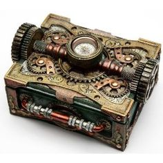 Another Steampunk box for trinkets or jewelry