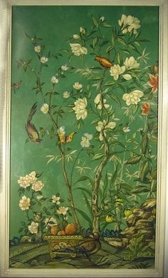 Chinoiserie - Art - Panel - by Bob Christian Love this. Two please. Chinese Wallpaper, Of Wallpaper, Pattern Wallpaper, Chinoiserie Wallpaper, Chinoiserie Chic, Chinese Design, Chinese Art, Art Decor, Decoration