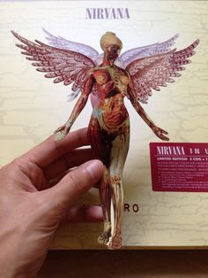 Nirvana In Utero 20th Anniversary Edition Limited 3CD DVD Box Set 2013 Includes 56 Page Special Collectors Book With Unreleased Photos And