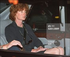 News Photo : sombrelooking Lady Jane Fellows a sister of Diana...