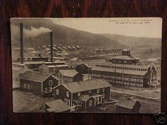 The tannery in Sheffield, PA in the 1800s.