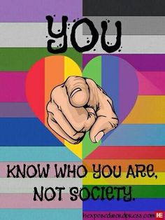 Be yourself! Live bright! LGBT lives forever!