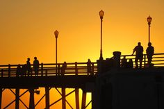 People Watching the Sunset at Oceanside Pier - April 29, 2014 by Rich Cruse on 500px