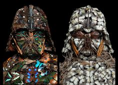 Artist constructs creepy Darth Vader masks entirely from dead insects | Inhabitat - Sustainable Design Innovation, Eco Architecture, Green Building