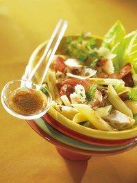 Salades de pates, pasta - Maigrir avec les pâtes -