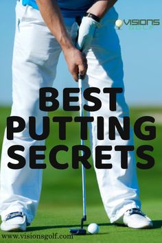 This article includes putting tips for golfers of all skill levels and builds up to challenging techniques you can try and rely on the next time you're on the green. Golf Instructors, Golf Putting Tips, Advertise Your Business, Better Together, Golf Tips, Helping Others, The Secret, Improve Yourself, Finance