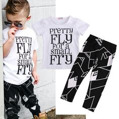 Newborn Baby Girl Boy Clothes Tops T Shirt Long Pants Leggings