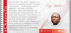 Seye Kehinde is a fearless and ardent businessman who has transformed 'CityPeople' from being called a junk magazine to being known as a reputable society magazine. #CheersTo his undeterred determination.