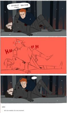 By eehn on tumblr <- Yeah, that´s most likely how it went #StarWars #Hux #KyloRen