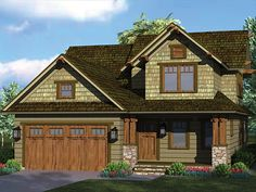 Bungalow House Plan with 1883 Square Feet and 3 Bedrooms from Dream Home Source   House Plan Code DHSW077133