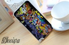 Disney Character Collage Phone Case For iPhone Samsung iPod