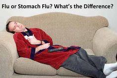 Flu or stomach flu