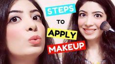Steps to Apply Makeup for Beginners in Hindi | मेकअप लगाने की विधि and M...