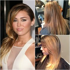 Miley Inspired Ombre Haircolor - West Palm Beach Hair Salon