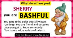 Find out What Dwarf are You!
