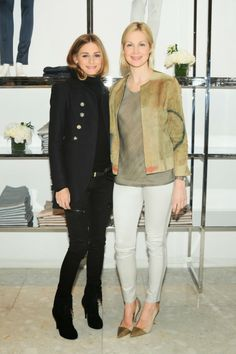 Olivia Palermo and Kelly Rutherford