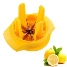 Fruit Lemon Lime Slicer Wedger Cutter Fruit Drinking Splitter Kitchen Tool