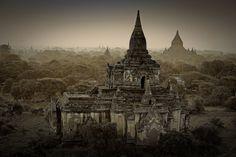 Bagan Temples by ~CitizenFresh on deviantART