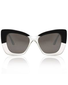 6338ce45f0b Miu Miu MU 53QS DHE3H2 Havana Marble White and Black Sunglasses ...