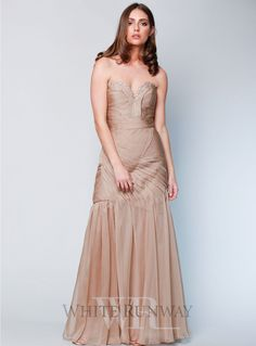 6241c872f7 Justine Dress. A stunning full length dress by Jadore. A V-neckline ...
