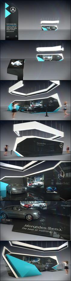 Mercedes-Benz stand