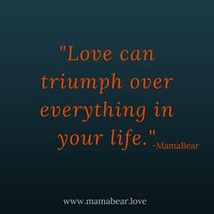 New Blog Post!  #Love, Stress, and Peanut Butter.  #MamaBearLife #begrateful Let Love Win www.mamabear.love