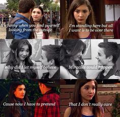Let's just stop a minute and appreciate how great a person Riley is: she had a GINORMOUS crush on a boy and the second she realized Maya liked him, she just. She's kept it inside of her forever. That's why I love Riley. Disney Channel Shows, Disney Shows, Boy Meets Girl, Girl Meets World, Riley And Lucas, Peyton Meyer, Cory And Topanga, World Quotes, High School Musical