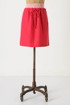"Roseus Skirt from Anthropologie $88. This is how to do ""comfy."""