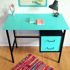 SALES Vintage Desk mid century modern by ChouetteFabrique