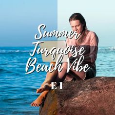 Take your travel photography feed to the next level with the best Summer Turquoise Beach Vibe lightroom preset that will create a summer vacation look.