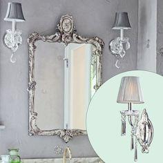 5. Crystal Sconce | Create a Glam Hollywood Bath | Photos | Bathroom | This Old House
