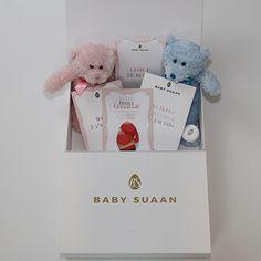 Coffret annonce grossesse classique Baby-Suaan