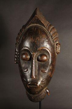 Baule Portrait Mask, Ivory Coast