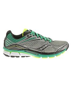 Look what I found on #zulily! Gray & Teal Triumph 11 Running Shoe by Saucony #zulilyfinds