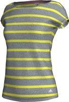 Trika – triko adidas sf striped tee w-L Striped Tee, Reebok, Adidas, Tees, Women, Fashion, Moda, T Shirts, Fashion Styles