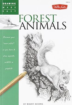 Forest Animals: Discover your inner artist as you learn to draw majestic wildlife in graphite (Drawing Made Easy)   Maury Aaseng http://www.amazon.co.jp/dp/1600583806/ref=cm_sw_r_pi_dp_dG.7wb1ZKG350