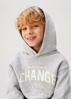 T-shirt Coton Bio Message - Taille : ans Sweat Shirt, Kids Usa, Cute Boys, Print Design, Organic Cotton, Kids Fashion, Cotton Fabric, Baby Boy, Graphic Sweatshirt