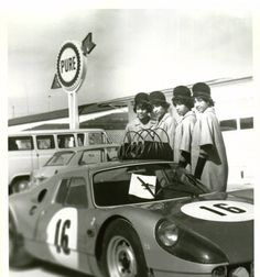 The Fultz Quads in Florida during a visit to Daytona Beach in the '60s