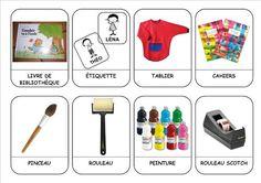 Le matériel de l'écolier