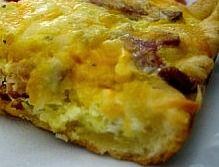 Breakfast Casserole (Crescent Rolls and Ham).  I love this as an alternative to Sausage Casserole.  http://www.stockpilingmoms.com/2011/12/breakfast-casserole-crescent-rolls-and-ham/
